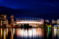 BC Place Stadium Opening Night